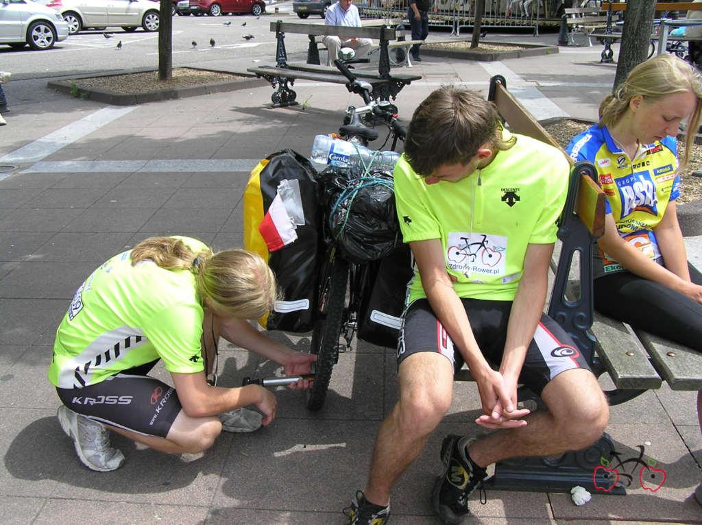 wyprawa rowerowa pruszków paryż 2009 zdrowy rower
